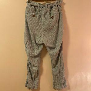 Free People Pants - Free People Seersucker Linen Pants